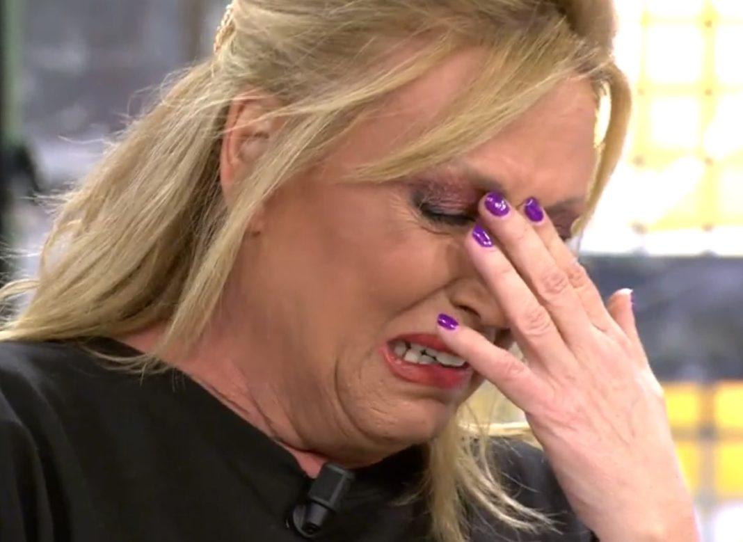 lydia lozano rompe a llorar
