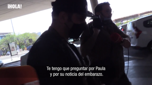 David se reserva su opinión sobre el embarazo de Paula
