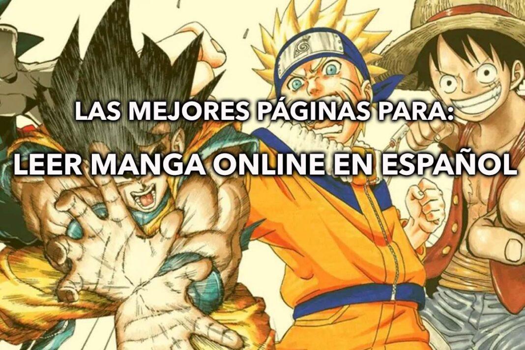 las mejores paginas para leer manga online en español