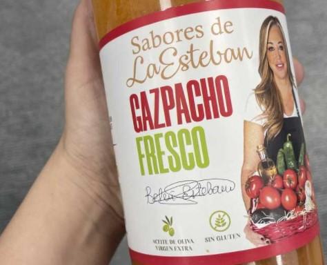 belen esteban gazpacho