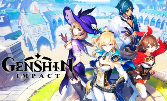 Genshin Impact juego android anime