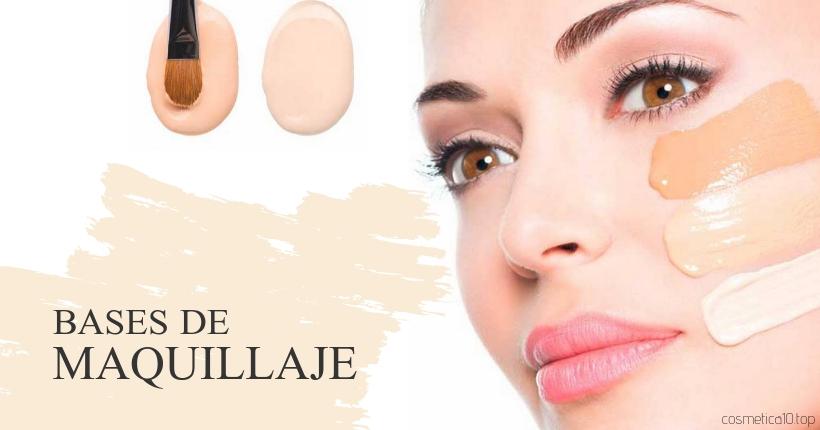 mejores bases de maquillaje aplicando base de maquillaje