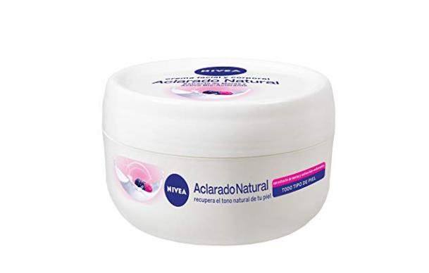 crema blanqueadora natural nivea pink