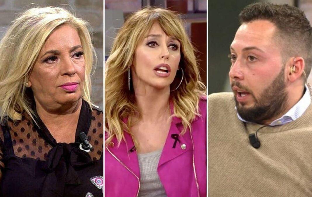 Carmen Borrego contra las cuerdas y el rescate de Emma Garcia ante los malos comentarios de José Antonio Avilés